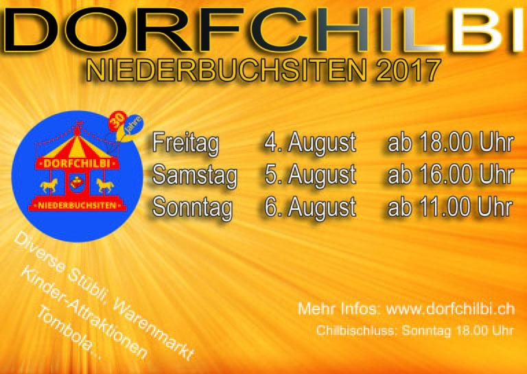 Flyer Dorfchilbi NDB